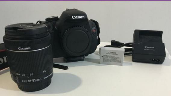 Canon T3i 600d + Lente 18-55mm Frete Grátis