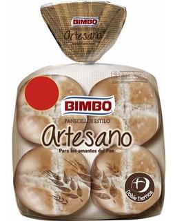 Paquete X 4u De Pan Hamb Artesano De Bimbo