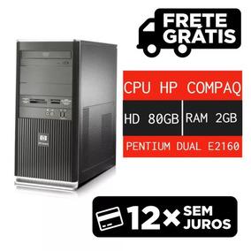 Cpu Usada Hp Pentium Dual Hd 80gb Envio Imediato!