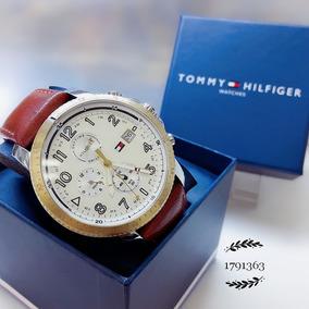 Relógio Tommy Hilfiger 1791315 Prata Aço Inox Couro Marrom