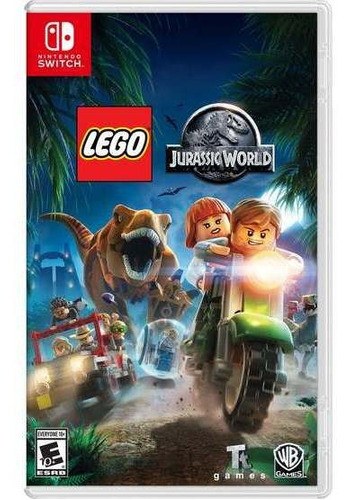 Lego Jurassic World - Nintendo Switch Nuevo