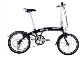 Bicicleta Dobravel Aluminio Houston Fx2 Aro 20 Shimano