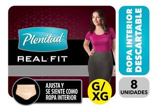 Plenitud Mujer Ropa Interior Real Fit G/xg X 8 Combo X 6
