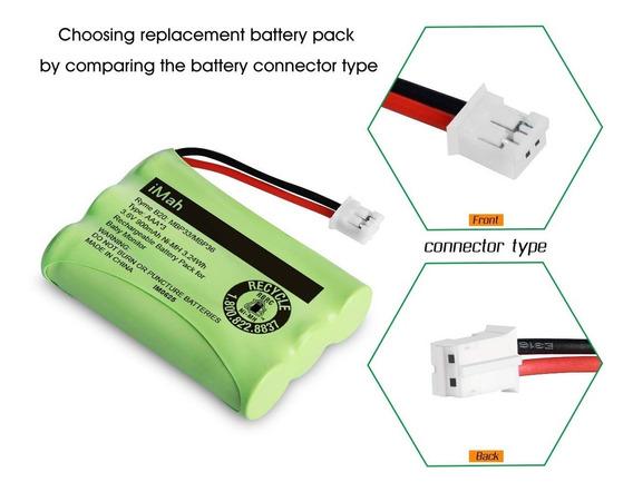 Bateria Mbp35spu 3,6v 900mah Aaa Ni-mh P/ Baba Eletronica
