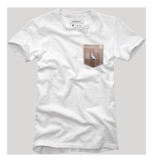 Camiseta Bolso Xadrez Quadrilha Reserva