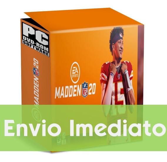 Madden Nfl 20 Pc Simulador Esportes Envio Agora 2019