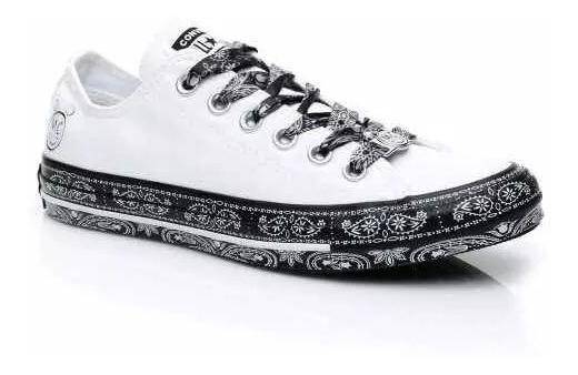 Zapatillas Converse Miley Cyrus Hi Blancas - Envío Gratis