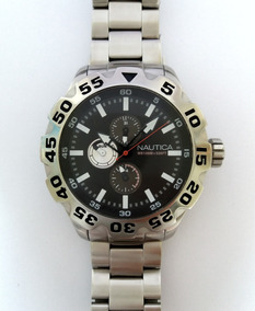Relógio.: Nautica N20092g Multifunção (100% Aço Inox)
