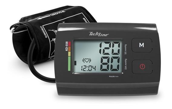 Monitor De Pressao Arterial De Braco Techline Kd-558 Cinza