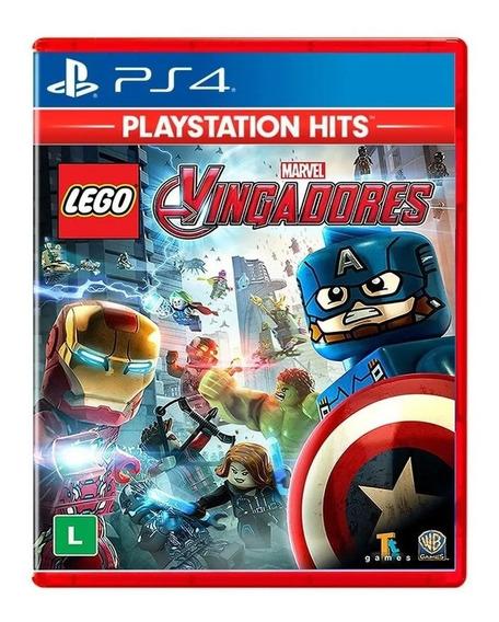 Lego Marvel Avengers Vingadores Ps4 Mídia Física Lacrado
