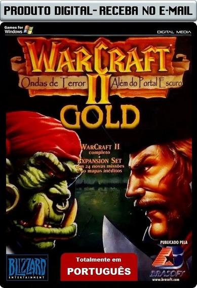 Warcraft 2 Com Expansão Em Português - Envio Digital