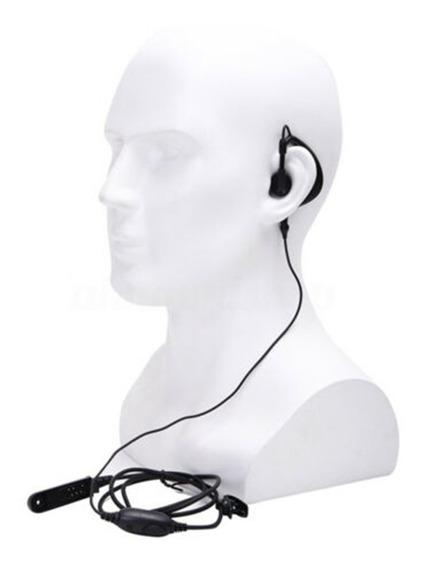 Fone De Ouvido Lapela Auricular Microfone Para Baofeng Uv9r