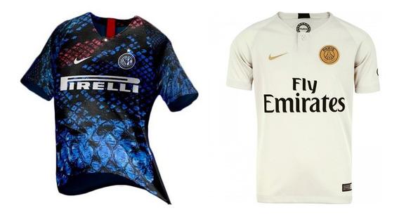 Promoção 2 Camisas De Times Internacionais - Últimas Unidade