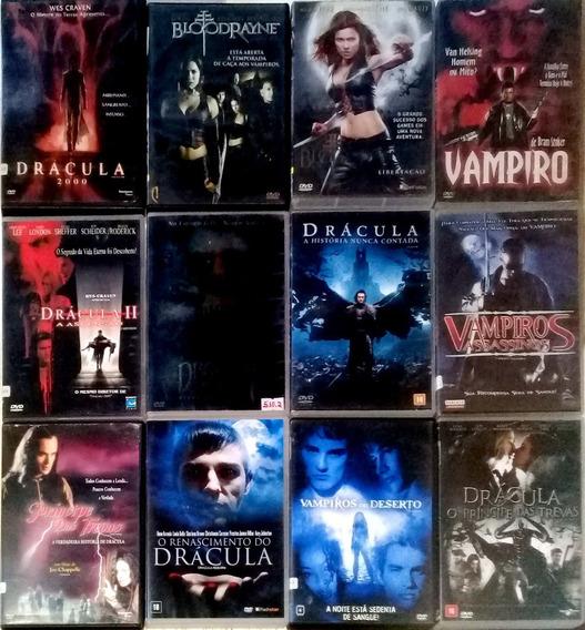 Dvd Coleção Dracula 12 Filmes Terror + Brinde Blade Original
