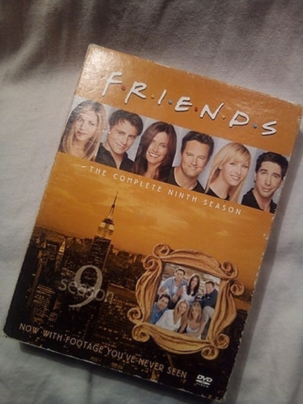 Serie Televisión Friends Temporada 9 Dvd Warner Bros 4 Disco
