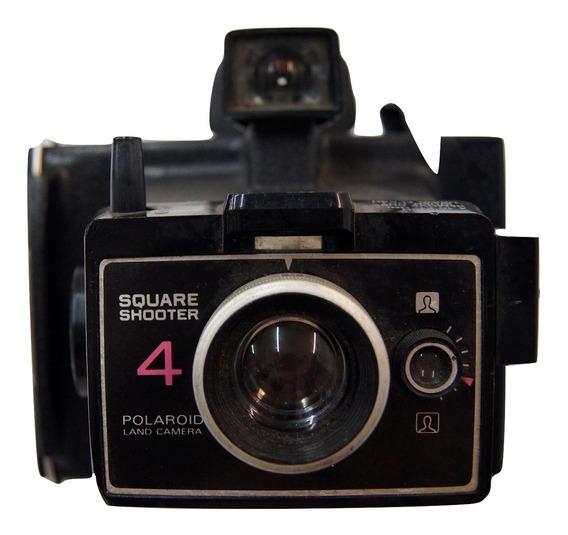 Antiga Máquina Fotográfica Polaroid Square Shooter 4