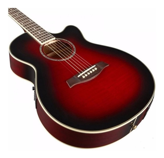 Ibanez Aeg 8 E Tbs Guitarra Electroacustica Cuerdas De Acero