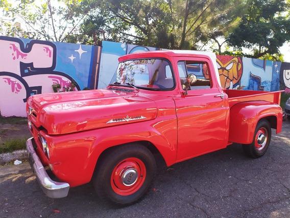 Ford F100 V8 1966 - Placa Preta - Whatsapp (11) 94515-6969