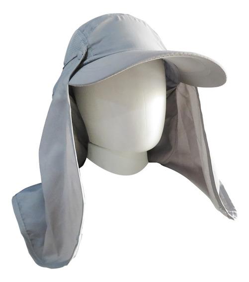 Boné Legionário C/ Máscara Proteção Uv 40 Em Poliéster