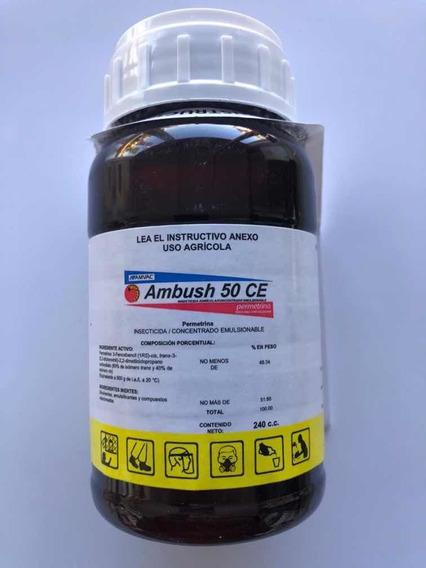 Ambush 50 Ce 240 Ml Insecticida Permetrina Amvac