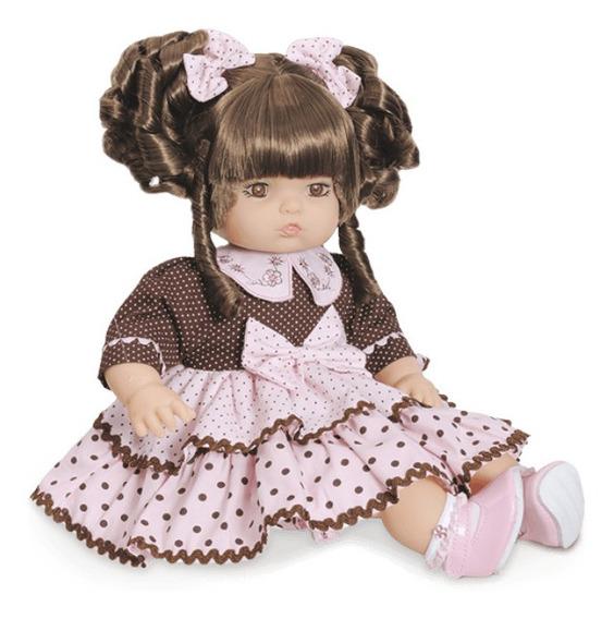 Boneca Real Baby Addara Alive 51 Frases Chocolate