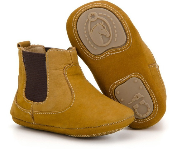 Botinha Baby Infantil Country Texana Em Couro Capelli Boots