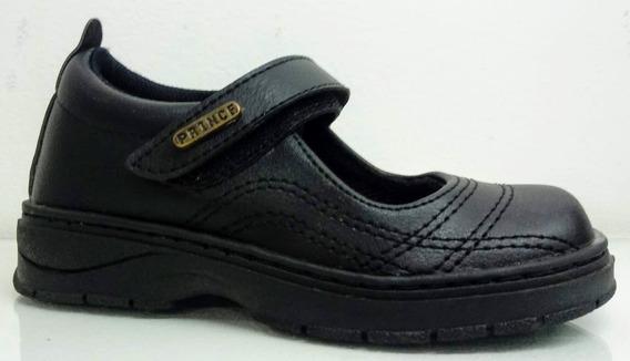 Zapatos Escolares Guillerminas Prince Económicas Niña Sint