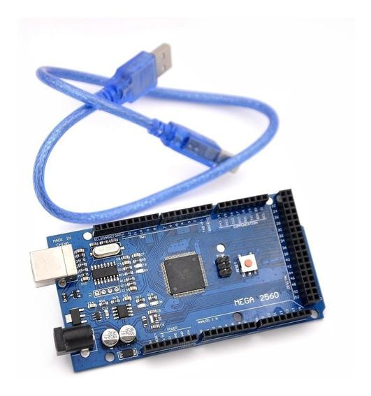 Arduino Mega 2560 + Sensor Tcrt 5000 + Cabo Usb
