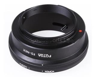 Adaptador Lentes Canon Montura Fd Para Sony Ilse Nex E A7