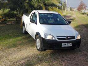 Chevrolet Montana Cabina Extendida C/aire Y Capota Mb Estado