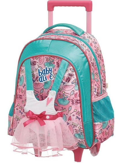 Mochila Carrinho G Baby Alive Ballet 980a01 - Pacific