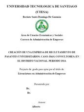 Elaboración De Tesis, Proyectos Y Trabajos De Grado Monograf