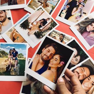 Kit Com 50 Fotos Imã Polaroide Imã De Geladeira