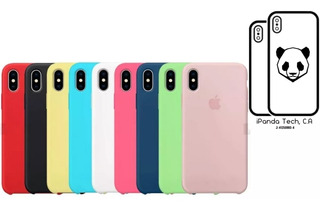 Forro Apple Silicone iPhone X Xr Xs Xs Max / Tienda Física