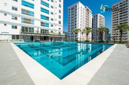 Lotisa Home Club, Torre B, Apartamento Com Suíte + 2 Dormitórios, 94m² Privativos, Fazenda, Itajaí Sc - Ap0865