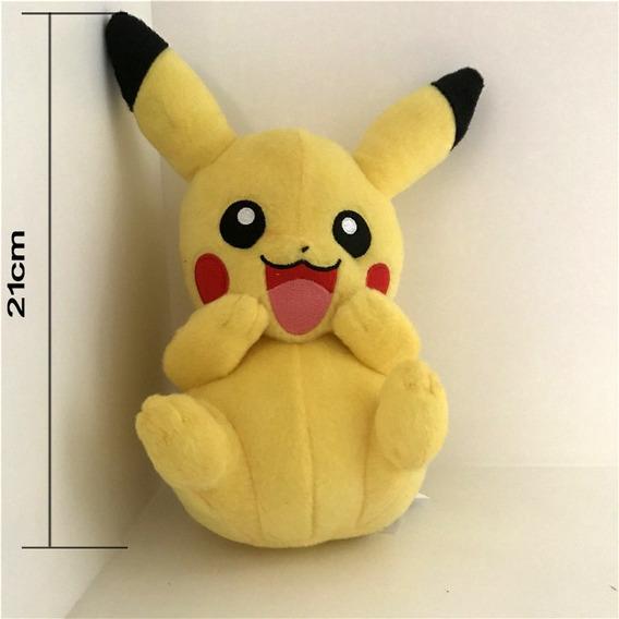 Pikachu E Charizard - Pokemon Pelucia Brinquedo