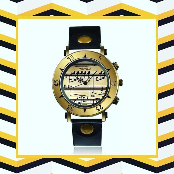 Relógio Notas Musicais
