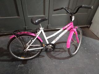 Bicicleta Mujer Rodado 24 Tomaselli