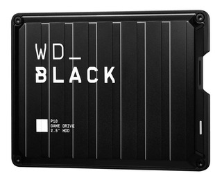 Disco Duro Externo Wd Black P10 2tb Game Drive Xbox Ps4 Pc