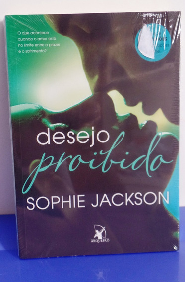 Livro Desejo Proibido Sophie Jackson - Lacrado