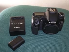 Câmera Canon 70d Usada Com Bateria E Carregador.