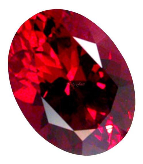 Lindo E Gracioso Rubi Pedra Preciosa Vermelho Brasa / 10 Cts