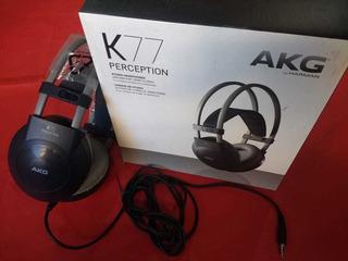 Auriculares Akg K77 (igual A Nuevos, Casi Sin Uso)