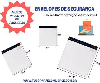 Envelope De Segurança 80x60 100 Pçs