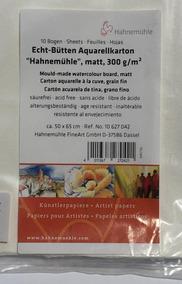 Papel Hahnemuhle Aquarela 50x65cm 300gr/m2 Cp
