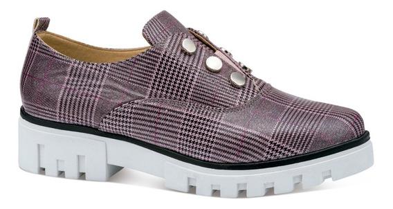 Black Diva Zapatos Elastico Casual Piso Charol 7190221