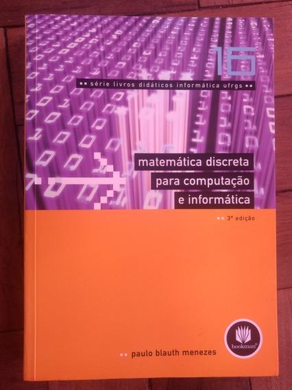 Livro Matemática Discreta Para Computação E Informática