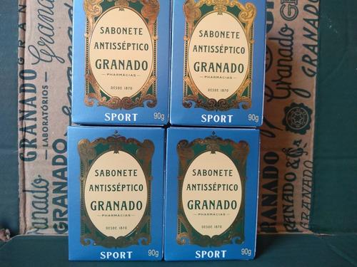 Sabonete Granado Antisséptico Sport 4 X 90 Gramas
