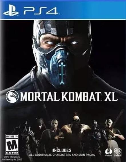 Mortal Kombat Xl Ps4 Psn Code 2 Dublado Imediato