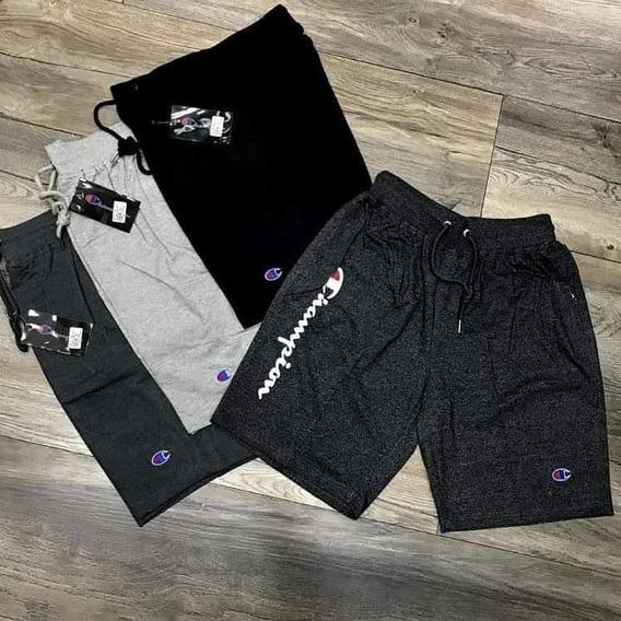 Pantaloneta Bermuda Pantalón Corto Champion adidas Original